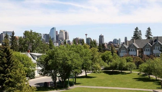 Calgary Real Estate Market - Calgary skyline
